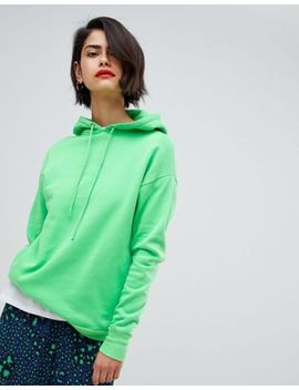 2 Ndday Hoodie In Poison Green by 2nd Day
