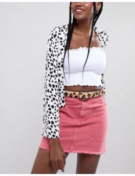 River Island Leopard Print Pony Belt by River Island