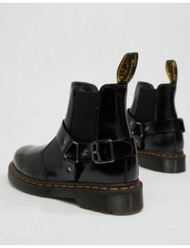günstig kaufen bieten eine große Auswahl an günstig kaufen Shoptagr | Dr Martens – Wincox – Schwarze Chelsea Stiefel by ...