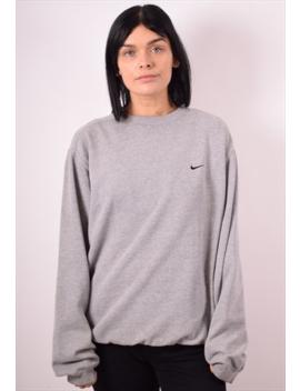 3603e353f58a nike-womens-vintage-sweatshirt-jumper-xl-grey-90s by
