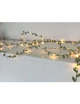 best website 1f29e f4e88 Green leaves fairy lights 2-10m, String lights, Green garland, battery,  usb, plug, Christmas decorations, wedding decorations
