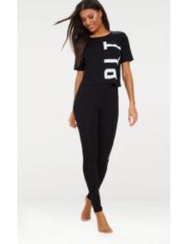 cac48daff163be prettylittlething-black-legging-pyjama-set by prettylittlething