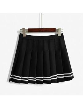 3978af0700 Shoptagr | A Line Sailor Skirt by Aesthetic Outfits
