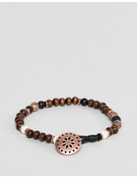 classics-77-brown-beaded-bracelet by classics-77