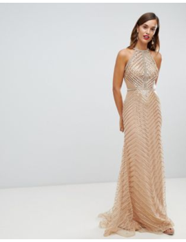 c7eb96f78d2 forever-unique-embellished-high-neck-maxi-dress by forever-