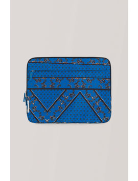 8f8e9fd524c4 Shoptagr   Tech Fabric Accessories Laptop Sleeve by Ganni