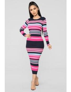 b86302d8714 straight-to-it-striped-sweater-dress---navy pink by