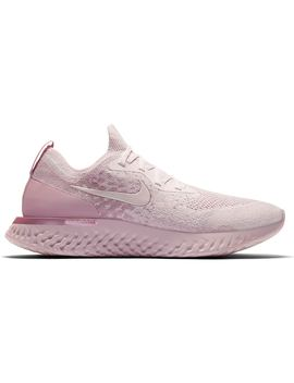 6d43e145 Shoptagr   Nike Epic React Flyknit Pearl Pink by Stock X