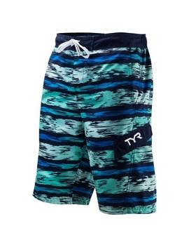 116f311644 Shoptagr | Men's Tyr Paint Striped Swim Trunks by Kohl's