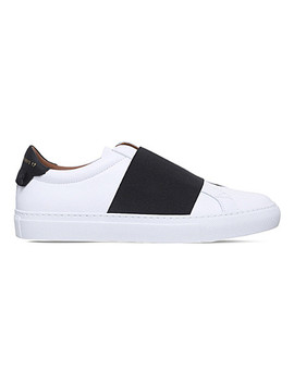 urban-street-low-leather-trainers by givenchy