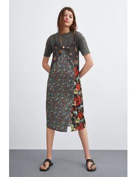 9348d362e9 COMBINED T SHIRT DRESSMidi-DRESSES-WOMAN