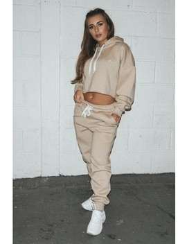 d2160053b5960c Shoptagr | Dani Dyer Babe Stone Embroidered Joggers by In The Style