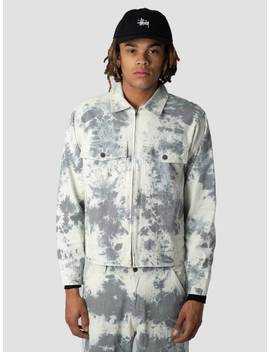 319e96df7a Stussy Hickory Stripe Garage Jacket Jacket Natural 1002
