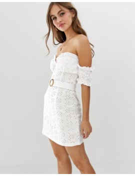 79634a535cd asos-design-bardot-mini-broderie-sundress-with-faux-