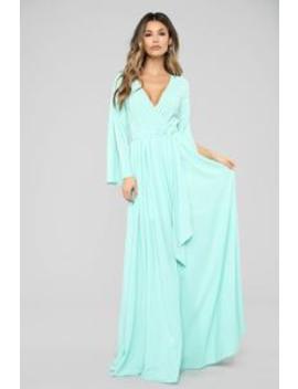 ec588d9ff13 Shoptagr | Sweet As Pie Maxi Dress Mint by Fashion Nova