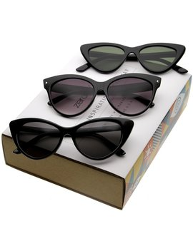 f9b084e04 Shoptagr | Women's Iconic Retro Cat Eye Sunglasses C053 [Promo Box ...