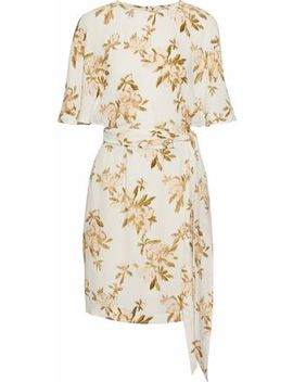 7060ca3a Shoptagr   St. Pierre Floral Print Crepe Mini Dress by Ganni