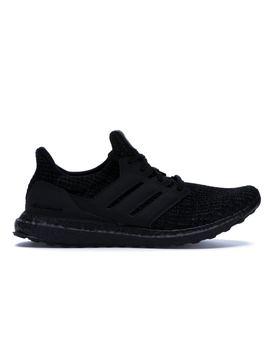 a890075d Shoptagr | Adidas Ultra Boost 4.0 Triple Black Nubuck Cage by Stock X