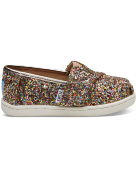 Multi Party Glitter Tiny Toms Classics by Toms