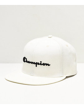 26dea0e522d03 champion-bb-script-white-snapback-hat by champion