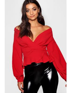 b6bdc4236ce88 tall-off-the-shoulder-blouse by boohoo