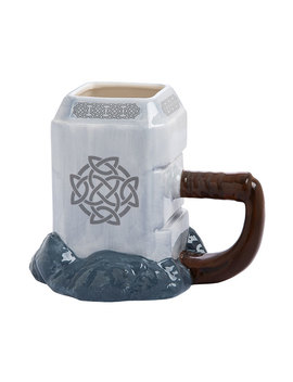 Marvel Thor Mjolnir Ceramic Sculpted Mug by Think Geek