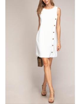 10559c52af Shoptagr | Button Dress by Truly Bo Hotique, Golden