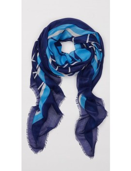 Giselle Scarf In Chatham Braid by J.Mc Laughlin