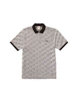 8c76fdfd Shoptagr | Supreme Nike Jacquard Polo Black by Stock X