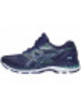 bcd55ba02750c Asics Gel Nimbus 20 Women s Shoes Indigo Blue Green by Running Warehouse