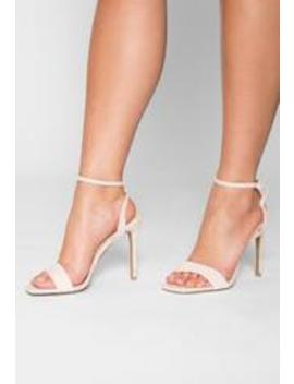 Genesis Square Toe Heels by Wet Seal
