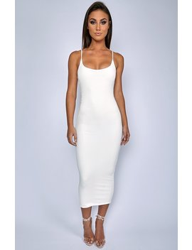 01bdc66f Shoptagr | North West Maxi Dress White by Babyboo Fashion