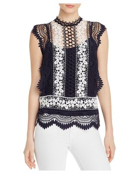 sleeveless-semi-sheer-lace-top---100%-exclusive by aqua