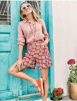 zoe-linen-shorts by boden