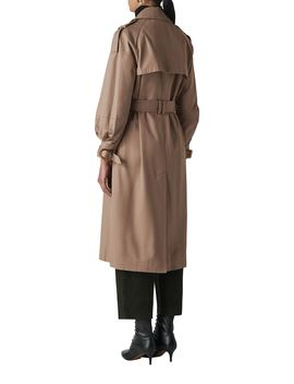 Imra Balloon Sleeve Trench by Whistles