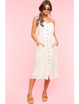 lara-button-front-dress by agaci