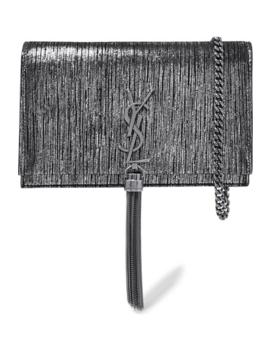 monogramme-kate-small-metallic-suede-shoulder-bag by saint-laurent