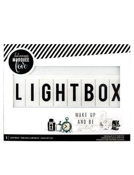 heidi-swapp-light-box-by-american-crafts-|-13-x-10-inch-white-cinematic-lightbox by american-crafts
