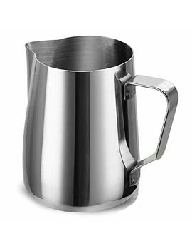 access-frh-espresso-frothing-pitcher-stainless-steel-12-oz-350-ml-milk-frothers-measurements-inside-foaming-milk-jug-cup-for-lattes-cappuccino-coffee by access-frh