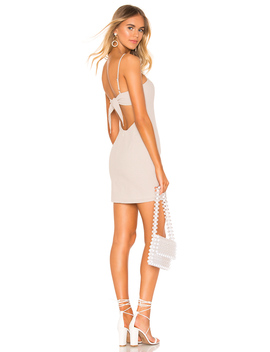 lacy-tie-back-dress by superdown