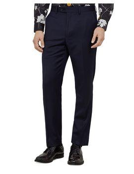arcinat-debonair-plain-slim-fit-suit-trousers by ted-baker
