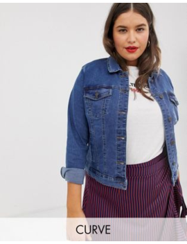 100% laatu ostaa halvalla paremmin Shoptagr | Vero Moda Curve Denim Jacket by Vero Moda