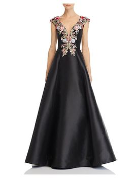 embellished-silk-ball-gown by basix