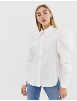 asos-design-long-sleeve-shirt-with-oversized-long-sleeves by asos-design