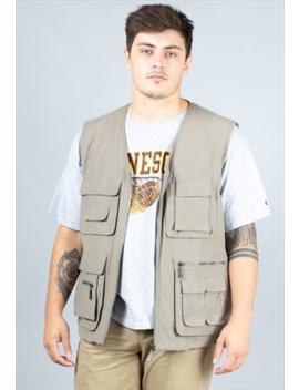 vintage-khaki-mian-utility-vest by square-eight