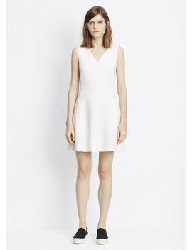 v-neck-sleeveless-dress by vince