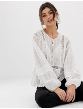 stevie-may-–-the-master-–-bestickte-bluse by asos