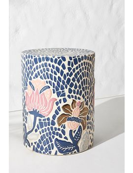 mosaic-stool by anthropologie