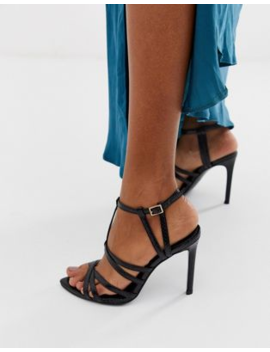 asos-design-high-maintenance-strappy-pointed-heeled-sandals by asos-design