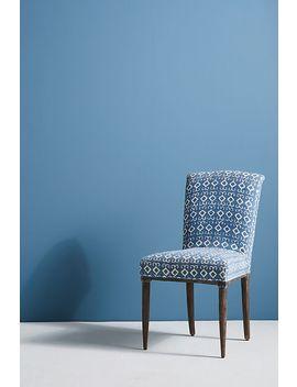 elza-indigo-dining-chair by anthropologie